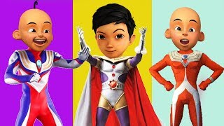 Wrong Superhero Coin Upin Ipin Adit Sapo Jarwo Ultraman Tiga Finger Family Song