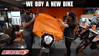 9. We buy a new bike - KTM Duke 390 2019 | Hindi | MotorOctane