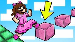 Minecraft: WORLD'S EASIEST PARKOUR! - Custom Map