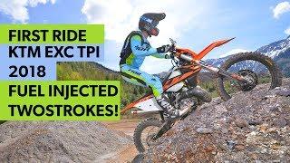 Video First Ride: KTM EXC TPI 2018 am Erzberg MP3, 3GP, MP4, WEBM, AVI, FLV Mei 2017