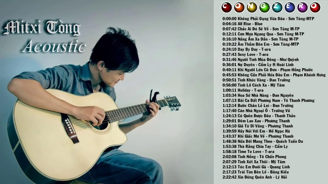 [Nhạc Acoustic] Những Bản Nhạc Guitar Không Lời Hay Nhất | Mitxi Tòng