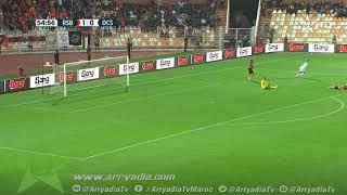 نهضة بركان 1-1 أولمبيك آسفي هدف  إسماعيل مقدم ضد مرماه في الدقيقة 55.