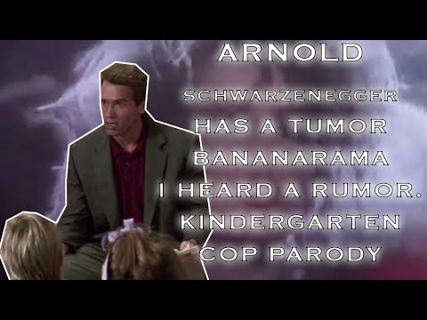 "Arnold Schwarzenegger Meets Bananarama ""It's Not A Tumor"" (I Heard a Rumour Mash-Up)"
