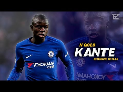 N'Golo Kante 2018 ▬ World Class • Crazy Tackles & Defensive Skills || HD