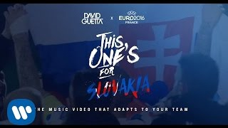 David Guetta ft. Zara Larsson - This One's For You Slovakia (UEFA EURO 2016™ Official Song)