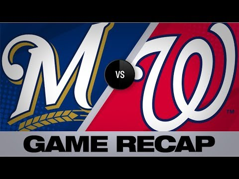Video: Thames propels Brewers to wild 15-14 victory | Brewers-Nationals Game Highlights 8/17/19