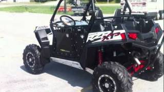 8. 2011 Polaris RZR XP 900 LE White Lightning with Pro Armor Doors and more!!!
