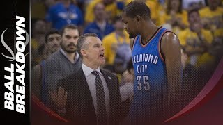 How The Warriors Limited Kevin Durant In The 1st Half of Game 7 by BBallBreakdown
