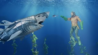 Aquaman and Mera - Stop Motion Adventure
