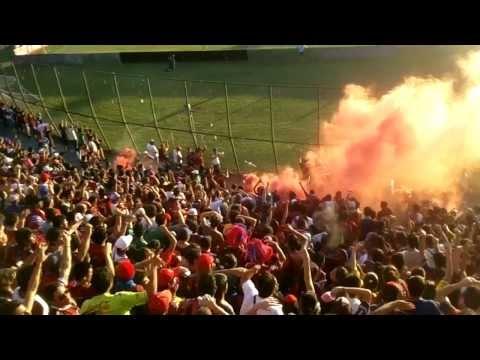 El recibimiento campeón clausura 2013 (CERRO EN HD) vídeo Navi Florentin. - La Plaza y Comando - Cerro Porteño