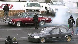 STREET WARS: AMERICAN MUSCLE Vs IMPORT TUNER CARS