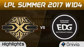 SS vs EDG Highlights Game 1 LPL SUMMER 2017 Snake vs Edward Gaming by Onivia Make money with your LoL knowledge...