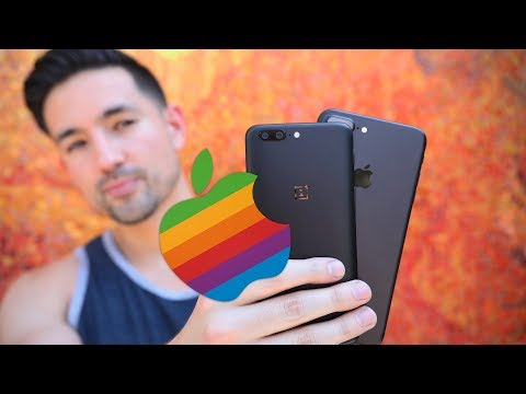 OnePlus 5 Hate - From an iPhone User's Perspective (видео)