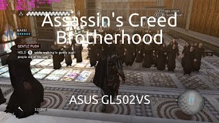 Gameplay of Assassin's Creed: Brotherhood on the ASUS GL502VS running the nVidia GTX 1070.Captured with nVidia GeForce Experience.Twitter: https://twitter.com/IVIauriciusInstagram: https://www.instagram.com/IVIauriciusFacebook: https://www.facebook.com/IVIauriciusSteam: http://steamcommunity.com/id/IVIauriciusPatreon: https://www.patreon.com/IVIauriciusPayPal Donate: https://goo.gl/yvOyR1ASUS GL502VS Specs:Intel Core i7 6700HQ32GB 2133Mhz DDR4 RAM1TB Crucial MX300 m.2 SSD2TB Seagate 5400RPM HDDnVidia GTX 1070Settings:Max Settings1920x1080GSync Disabled