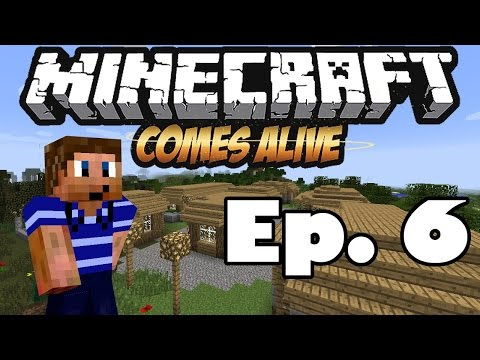 Minecraft Comes Alive 5   Ep. 6 - Will You Marry Me? (Minecraft Mod LP)