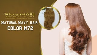 Vietnamese Hair | Double Drawn Weft Natural Wavy Hair color #72