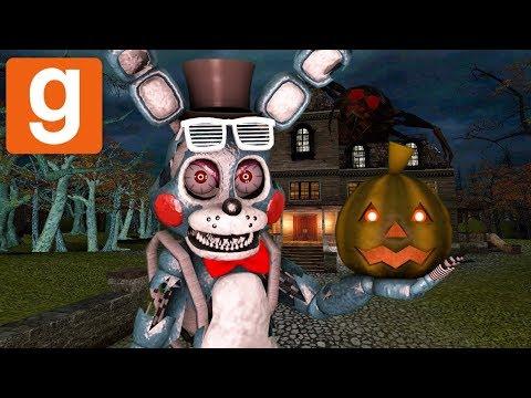 TRICK OR SHRIEK!! || Garry's Mod HALLOWEEN Hide & Seek || Zany Gmod #37 (видео)
