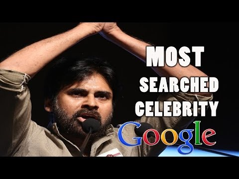 Pawan Kalyan  Most Searched Celebrity On Google