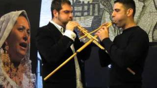Musical performance by Giancarlo Seu and Andrea Pisu with their