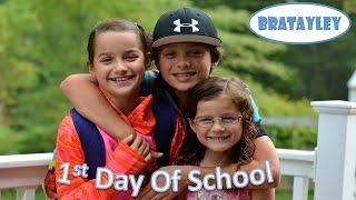 1st Day of School 2014 (WK 191.2) | Bratayley