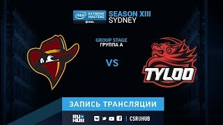 Renegades vs Tyloo - IEM Sydney XIII - map2 - de_train [SleepSomeWhile, Anishared]