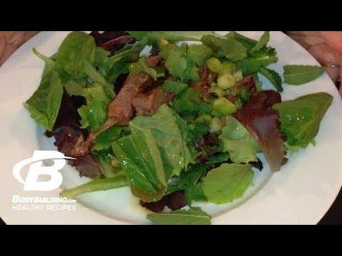 Healthy Recipes: Grilled Thai Beef Salad – Bodybuilding.com