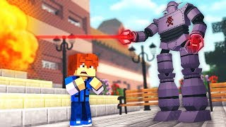A GIANT ROBOT Attacked My School !? - Daycare (Minecraft Roleplay)