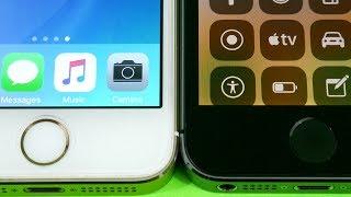 iPhone 5S iOS 10.3.2 vs iPhone 5S iOS 11 Public Beta! - Speed Test