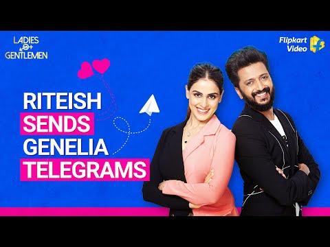 Genelia got love telegrams from Riteish! | Ladies v/s Gentlemen | Flipkart Video