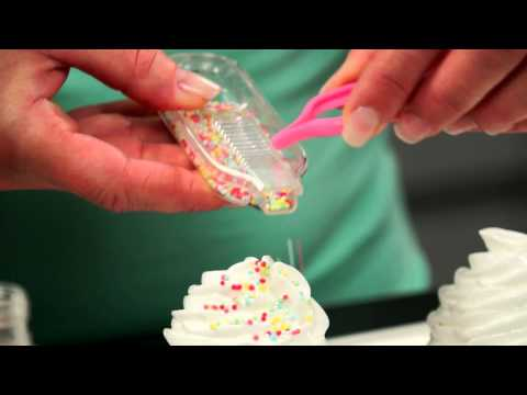 Видео Аксессуары для выпечки Tescoma Шприц для кондитерской посыпки DELICIA DECO Tescoma 633300