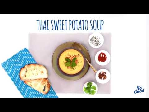 Thai sweet potato (kumara) soup thumbnail 1