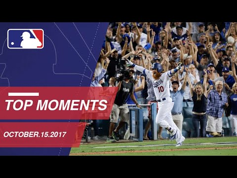 Turner's walk-off homer, plus nine more moments from NLCS Game 2: 10/15/17