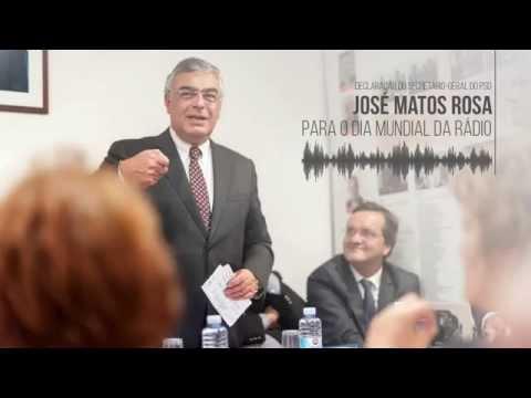 José Matos Rosa no Dia Mundial da Rádio