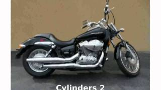 1. 2009 Honda Shadow Spirit 750 - Specs & Features