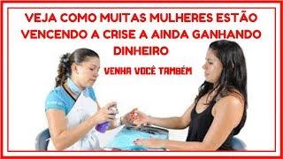 Curso de manicure online - COMO GANHAR DINHEIRO FAZENDO UNHAS DECORADAS