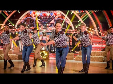 Timber - http://www.bbc.co.uk/strictly The Strictly professionals perform a group dance to 'Cotton Eyed Joe' and 'Timber' medley.