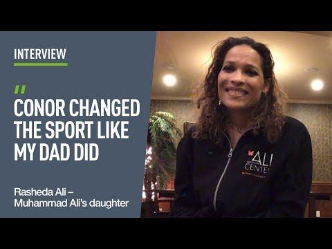 Muhammad Ali's daughter compares Conor McGregor to her dad!