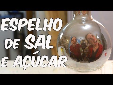 Espelho de sal e açúcar