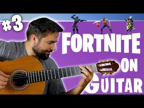 FORTNITE DANCES ON GUITAR (PART 3)