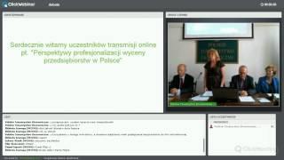 """Relacja z debaty """"Perspektywy wyceny przedsiębiorstw w Polsce"""""""