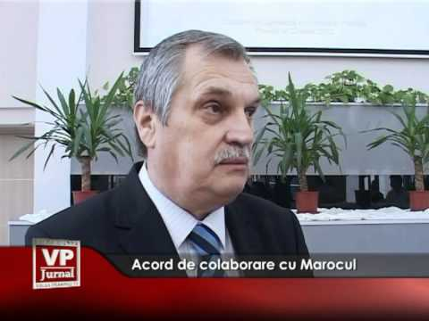 Acord de colaborare cu Marocul