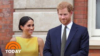 Prince Harry And Meghan Markle Welcome 1st Child, A Boy | TODAY