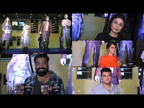 Anurag Kashyap | Kiran Rao | Siddharth Roy Kapur | Red Carpet Premiere Of Guardians Of Galaxy