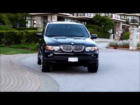 2006 Bmw x5 black фотография