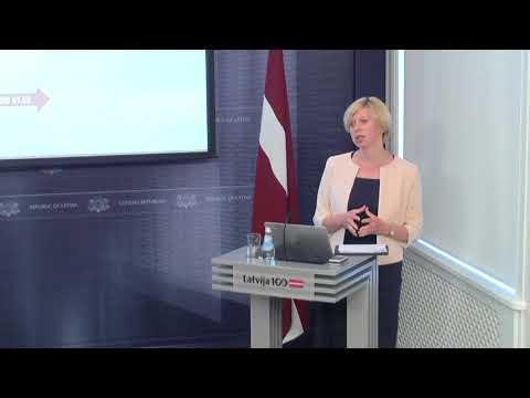 Veselības ministres Andas Čakšas preses brīfings pirms 2018.gada 29.maija MK sēdes par plānoto iestāžu reorganizāciju