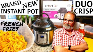 INSTANT POT DUO CRISP FRENCH FRIES Air Fried in Air Fryer Function