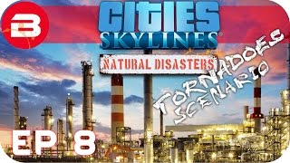 Cities Skylines Natural Disasters Gameplay - FIRE FIRE FIRE! (Hard Scenario) #8