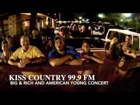 Big & Rich live at 99.9 Kiss Country