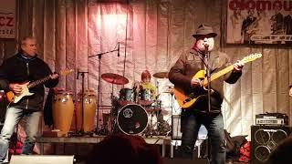 Video Bluesberg - Mississippi, 20.12.2017 Vánoční trhy Olomouc