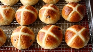 Hot Cross Buns Recipe - How to Make Hot Cross Buns for Easter by Food Wishes